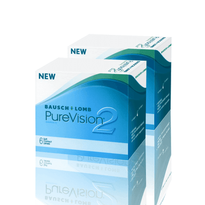 Purevision 2 Combo 2 Caixas ,Bausch e Lomb