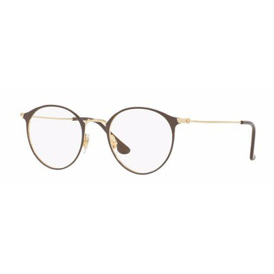 Ray-Ban RB6378 2905 49 Round - Brown/Gold,Ray-Ban