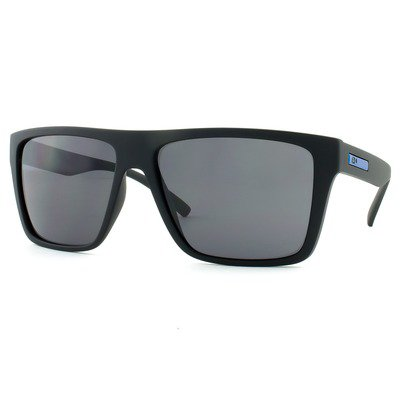 HB Floyd 9011700100 - Matte Black D. Blue/Gray Lenses,HB