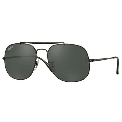 Ray-Ban RB3561 002/58 57 The General - Black/Green Classic G-15,Ray-Ban
