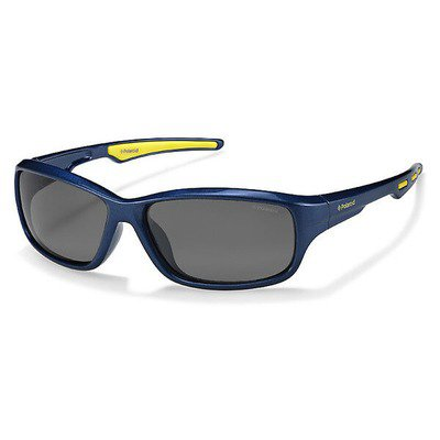 Polaroid P0425 KEA Y2 55 Kids - Blue Lime/Gray Polarized,POLAROID