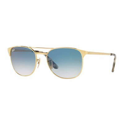 Ray-Ban RB3429M 001/3F 58 Signet - Gold/Blue Gradient,Ray-Ban