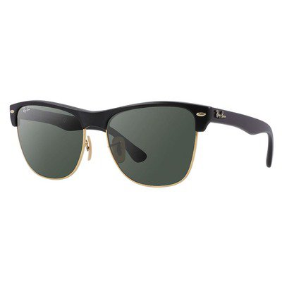 Ray-Ban RB4175 877 57 Clubmaster - Black/Green Classic G-15,Ray-Ban