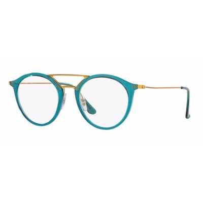 Ray-Ban RB7097 5632 49 Round - Blue/Bronze,Ray-Ban