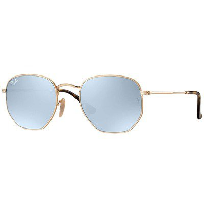 Ray-Ban RB3548N 001/30 51 Hexagonal - Gold/Silver Flash,Ray-Ban