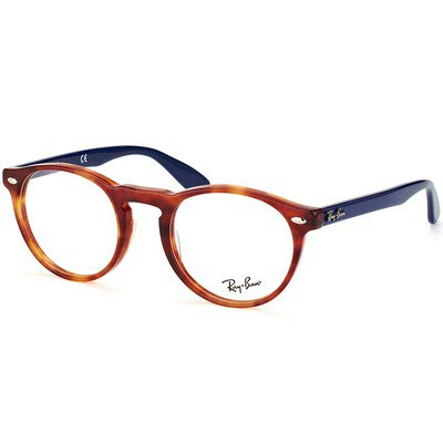 Ray-Ban RB5283 5609 51 Round - Tortoise/Blue,Ray-Ban