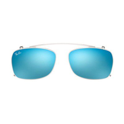 Ray-Ban Clip On RX5228C 2501B7 53 - Silver/Blue Gradient Mirror,Ray-Ban