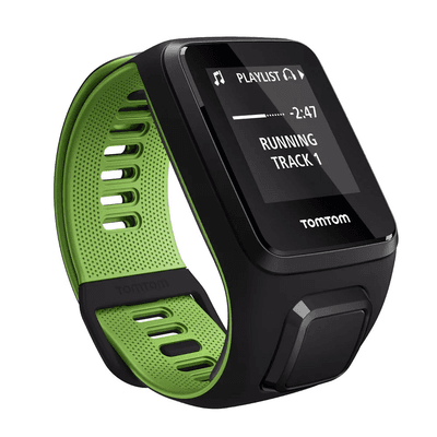 Relógio TomTom Runner 3 Cardio Music GPS Running Watch 1RK0.001.00 - Verde Small,TomTom