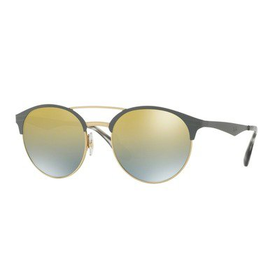 Ray-Ban RB3545 9007A7 54 Clubround - Gold Matte Grey/Gold Gradient,Ray-Ban