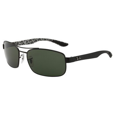 Ray-Ban RB8316 002/N5 62 Tech - Black/Green,Ray-Ban