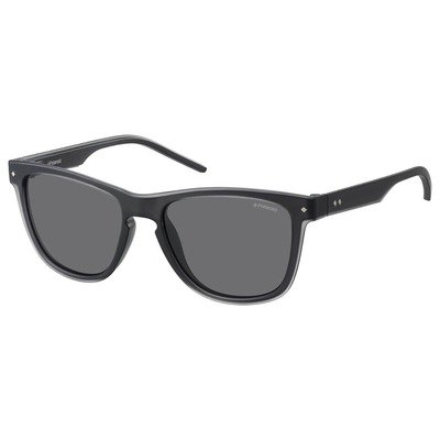 Polaroid PLD2037S MNV Y2 54 Contemporary - Gray/Gray Polarized,POLAROID