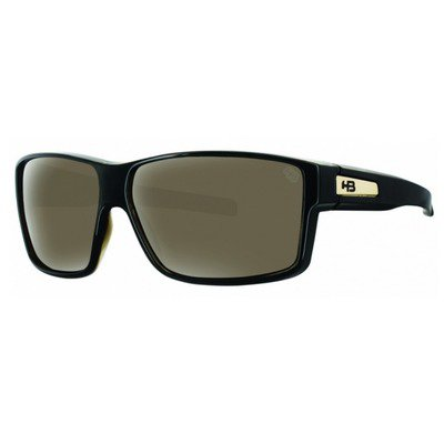 HB Big Vert 9010912203 - Black Gold/Brown Lenses,HB