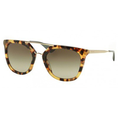 Prada Cinema PR13QS 7S04M1 54 - Medium Havana/Light Green,PRADA