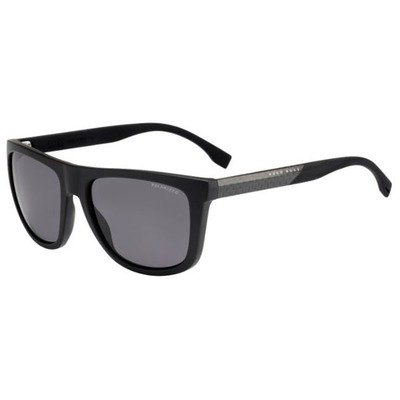 Hugo Boss BOSS 0834/S HWO 3H 56 - Dark Brown/Grey Polarized,BOSS by HUGO BOSS