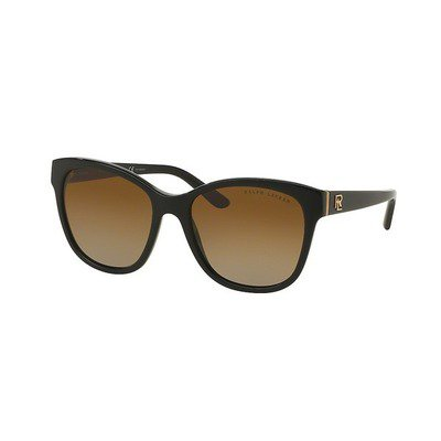 Ralph Lauren RL8143 5001T5 55 - Shiny Black/Brown Gradient Polarized,RALPH LAUREN