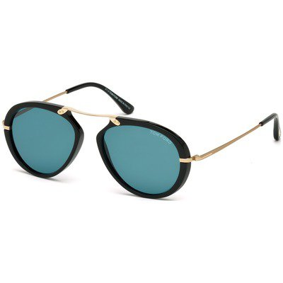 Tom Ford Aaron FT0473 01V 53 - Black/Blue,TOM FORD