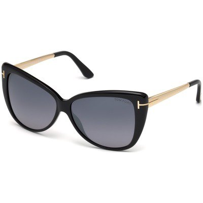 Tom Ford Reveka FT0512 01C 59 - Black/Smoke,TOM FORD