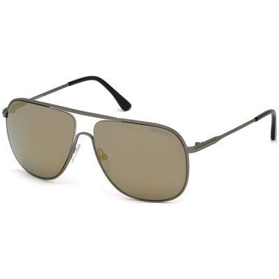 Tom Ford Dominic ft0451 09c 60 - Matte Gunmetal Smoke Mirror e1efd1afa3