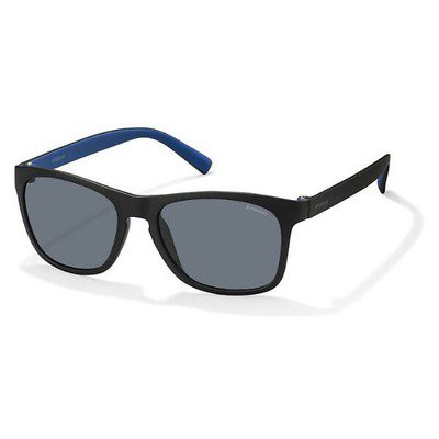Polaroid PLD3009S LLK C3 53 Bi-Color -  Black Bluette/Blue Polarized,POLAROID