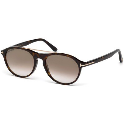 Tom Ford Cameron-02 FT0556 52G 53 - Havana/Brown-Gold Mirror,TOM FORD