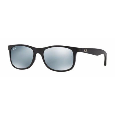 Ray-Ban Junior RJ9062S 701330 48 - Black/Silver Mirror,Ray-Ban