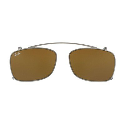 Ray-Ban Clip On RX5228C 250273 53 - Gunmetal Grey/Brown,Ray-Ban