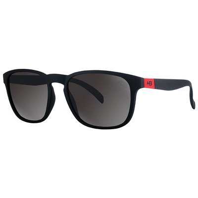 HB Dingo 9011870200 - Matte Black D. Red/Gray Lenses,HB