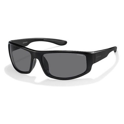 Polaroid PLD3016S D28 Y2 66 Sport - Shiny Black/Gray Polarized,POLAROID