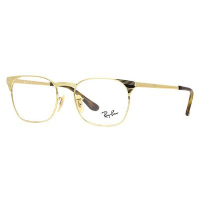 Ray-Ban RB6386 2500 53 Signet Optics - Gold,Ray-Ban