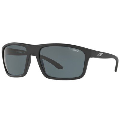 Arnette Sandbank AN4229 01/81 61 - Matte Black/Grey Polarized,ARNETTE