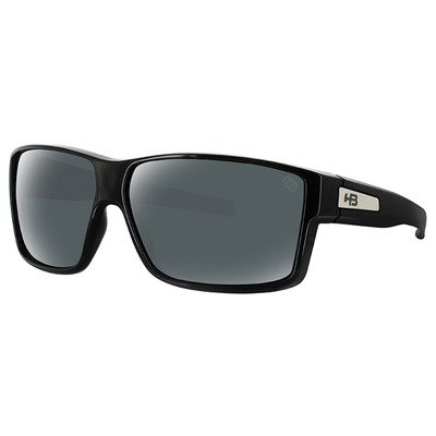 HB Big Vert 9010900200 - Gloss Black/Gray Lenses,HB