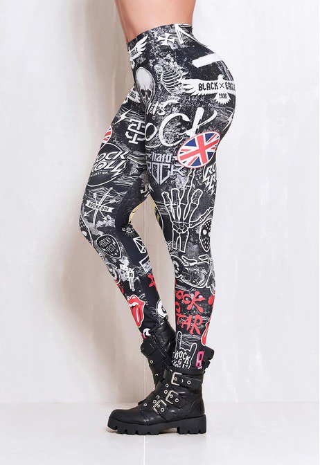 Legging Elastic Beaded Wall