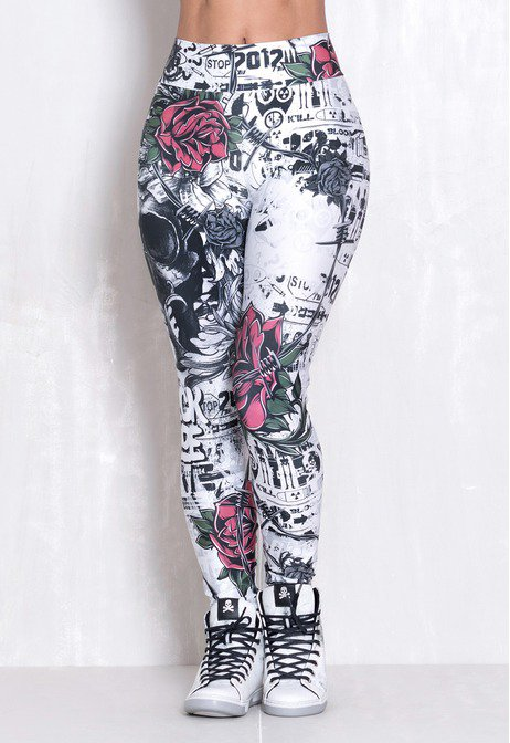 Legging Elastic Night Shadow