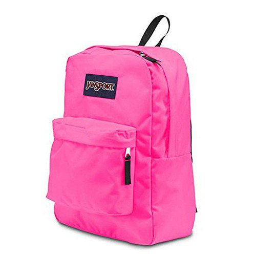 f160375e3 Mochila Jansport Black Label Superbreak Pink