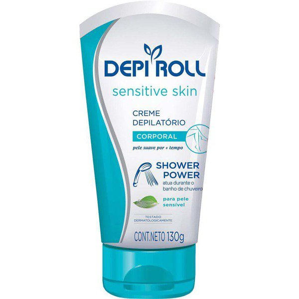 Depi Roll Creme Shower Power Sensitive 130g