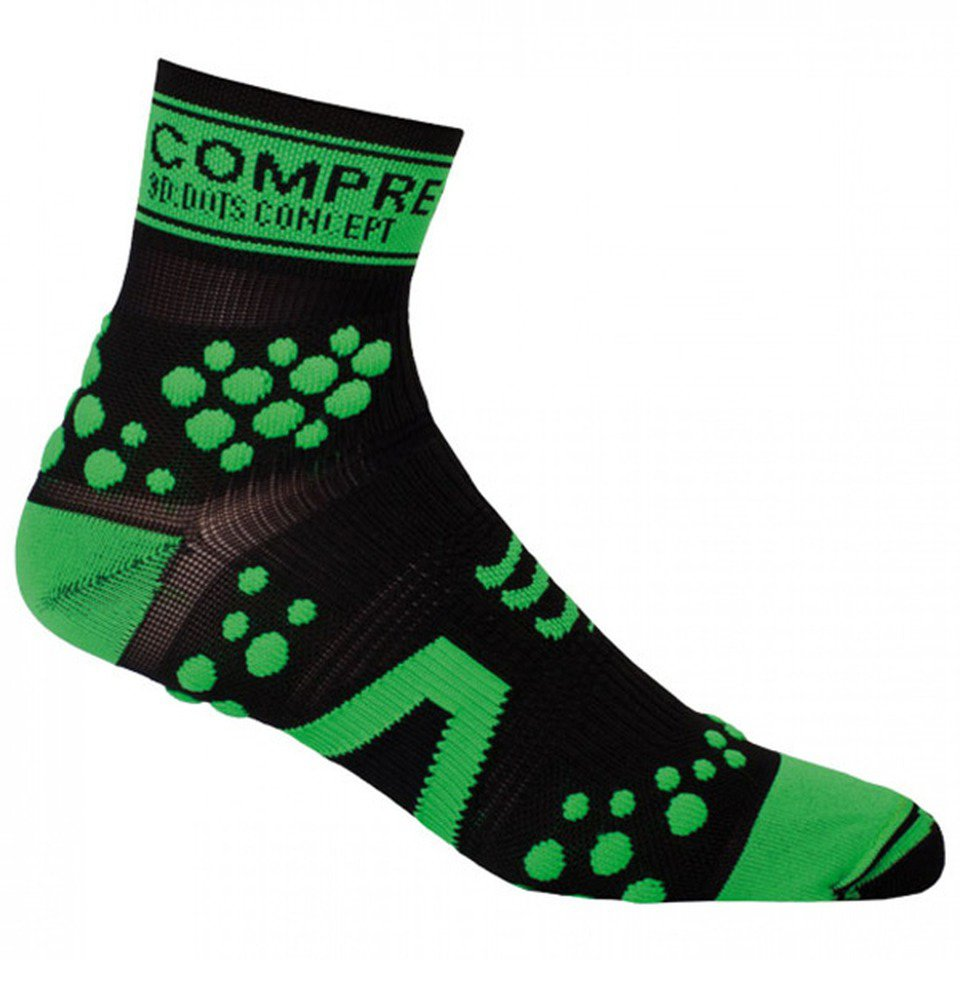 Meia de compressão Compressport Trail High Cut para Trilha