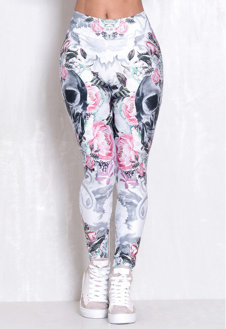 Legging Elastic Kind Skull